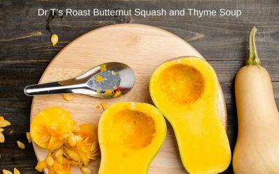 Dr T's Butternut Squash Soup
